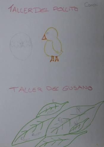 EL TALLER DE LA SEDA Y DE LOS POLLITOS