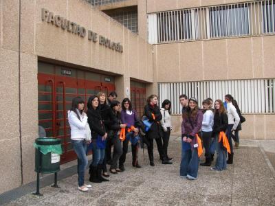 Alumnos de 2º de Bachiller A y B en la XXII Semana de Biología